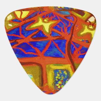 Bildkonst 860 (träd) plektrum
