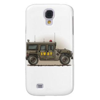Bilen för polisen för FLUGSMÄLLAlaghummeren täcker Galaxy S4 Fodral