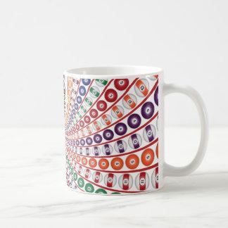 Biljard/bassängbollspiral: Kaffemugg