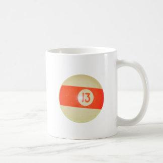 Biljardboll #13 kaffemugg