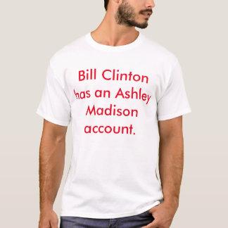 Bill Clinton angelägenhetskjorta Tee Shirt