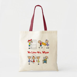 Billigt skräddarsy sig Yourself lärare som totot h Tote Bags