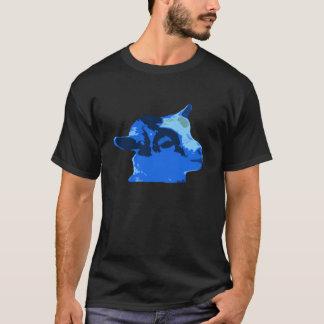 Billy ungedroppen - blått solo tröja