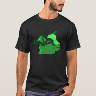 Billy ungedroppen - grönt solo t shirts