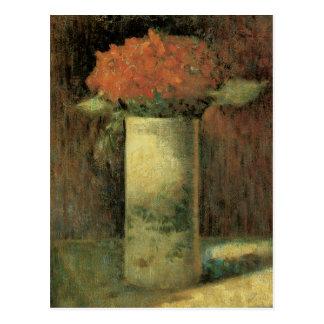 Bilskrälle av blommor vykort