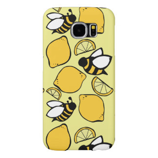 Bin och citroner för Lemonade Samsung Galaxy S6 Fodral