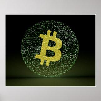 Binära Bitcoin Poster