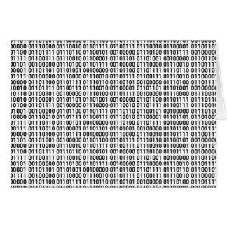 Binärt: Jag älskar för att programmera Hälsningskort