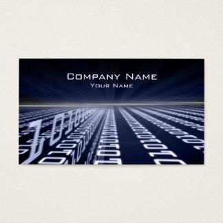 Binärt kodifiera den Matrica blåttvisitkorten Visitkort