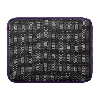BINÄRT KODIFIERA grå färg MacBook Air Sleeve