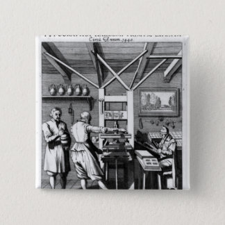 Binderyen av Laurens Janszoon Koster Standard Kanpp Fyrkantig 5.1 Cm
