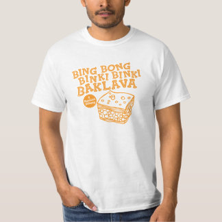 Bingen Bong TV:N för 90-tal för Binki Binki Tee Shirts