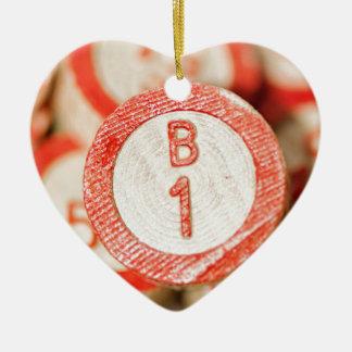 Bingo B1 Julgransprydnad Keramik