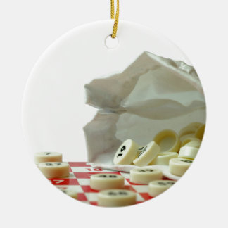Bingo Julgransprydnad Keramik