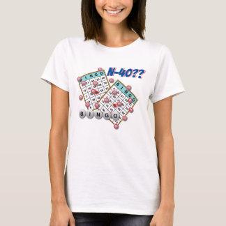 Bingo N40 Cased Las Vegas T-shirts