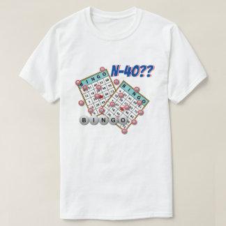 Bingo N40 Las Vegas NV T Shirts
