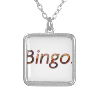 Bingo! Silverpläterat Halsband