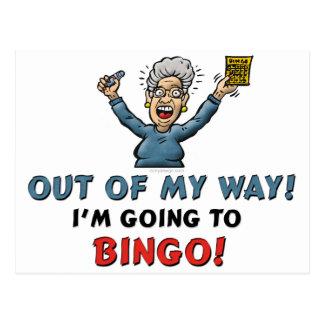 Bingoälskare Vykort