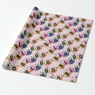 Bingoblek - rosa slående in papper presentpapper