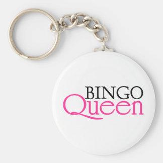 Bingodrottning Nyckel Ring