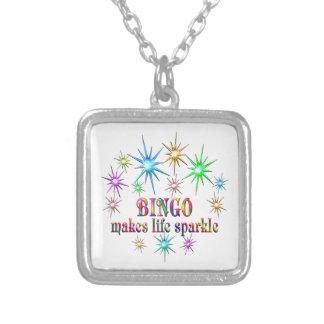 BingoSparkles Silverpläterat Halsband