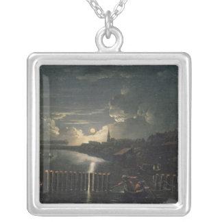 Binnenalster 1764 silverpläterat halsband
