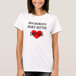 Biochemists gör bättre älskare T-skjortan T-shirts