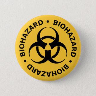 Biohazardvarning Standard Knapp Rund 5.7 Cm