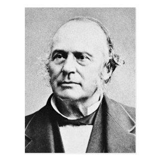 Biolog för Agassiz ~-Louis Agassiz Naturalist Vykort