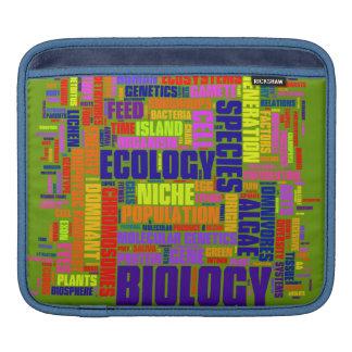 BiologiWordle ipad sleeve