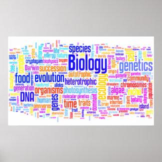 BiologiWordle nr. 17 Poster