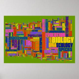 BiologiWordle nr. 2 Poster