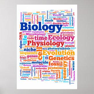 BiologiWordle nr. 7 Poster