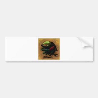 bird-9870-tropical-exotic-funny-parrot-macaw bildekal