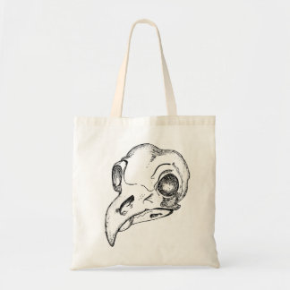 Bird Skull Budget Tygkasse