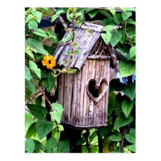 Birdhouse Vykort