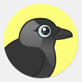 Birdorable alika runt klistermärke