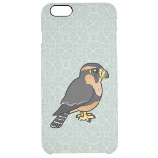 Birdorable peruansk Aplomado falk Clear iPhone 6 Plus Skal
