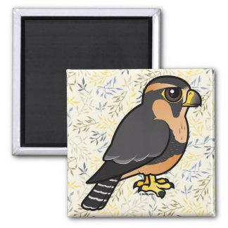 Birdorable peruansk Aplomado falk Magnet
