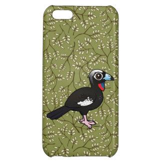 Birdorable Svart-beklädde att leda i rör Guan iPhone 5C Mobil Skydd