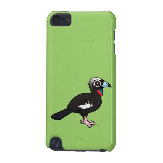 Birdorable Svart-beklädde att leda i rör Guan iPod Touch 5G Fodral