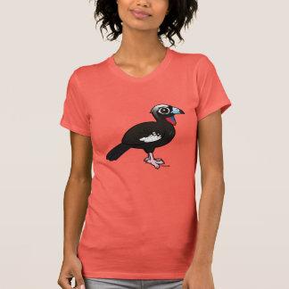 Birdorable Svart-beklädde att leda i rör Guan T-shirt