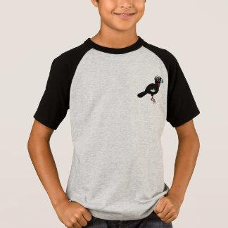 Birdorable Svart-beklädde att leda i rör Guan T-shirts