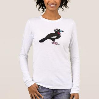 Birdorable Svart-beklädde att leda i rör Guan Tee Shirts