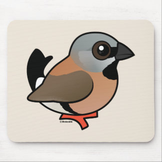 Birdorable Svart-throated Finch Musmatta