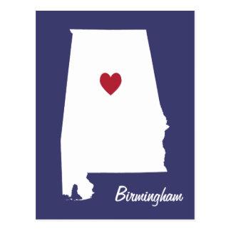 Birmingham Alabama vykort