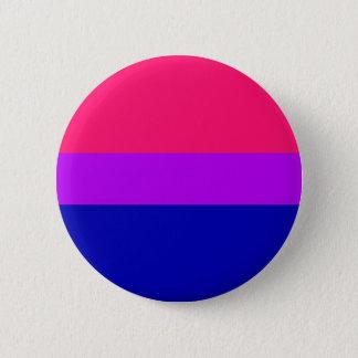Bisexuell pride knäppas standard knapp rund 5.7 cm