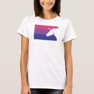 Bisexuell Unicornflagga Tröjor