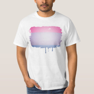 BISEXUELLA FÄRGER för PRIDE 3D T Shirt