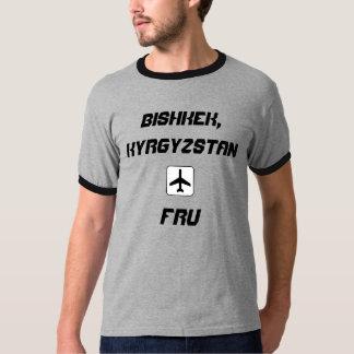 Bishkek Kirgizistanflygplats kodifierar T Shirt